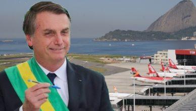 Bolsonaro privatização de aeroportos e portos