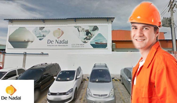 De Nadai Macaé vagas soldador pintor logística
