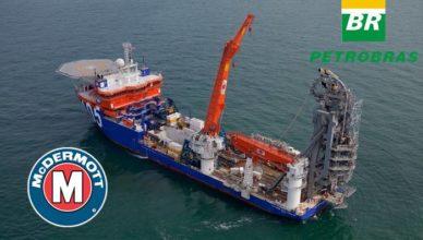 Petrobras licitação risers rígidos McDermott