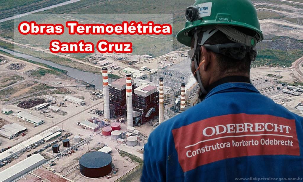 Obras Termoelétrica Santa Cruz Currículos