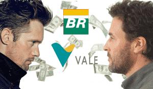 Petrobras vale ações