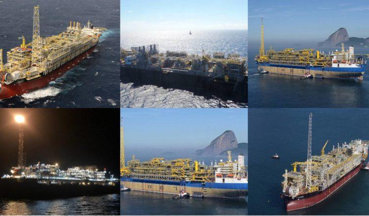 Campo de Lula marca histórica Brasil Petróleo