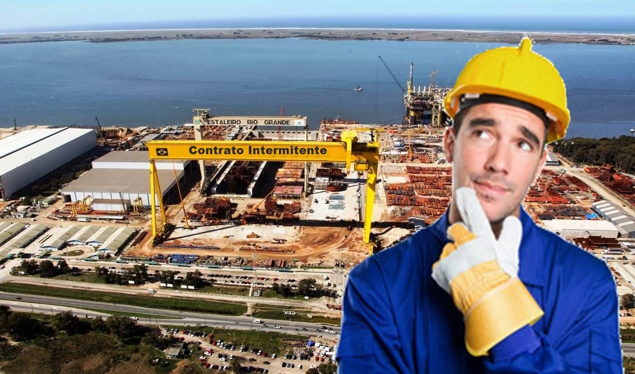 Contrato de Trabalho Intermitente Brasil Lei