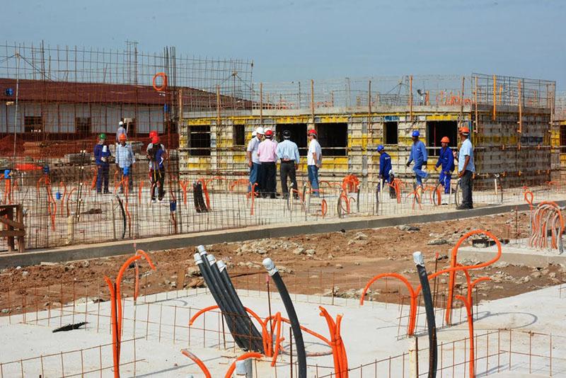 Iniciaram-se mais vagas para obras em Itaboraí