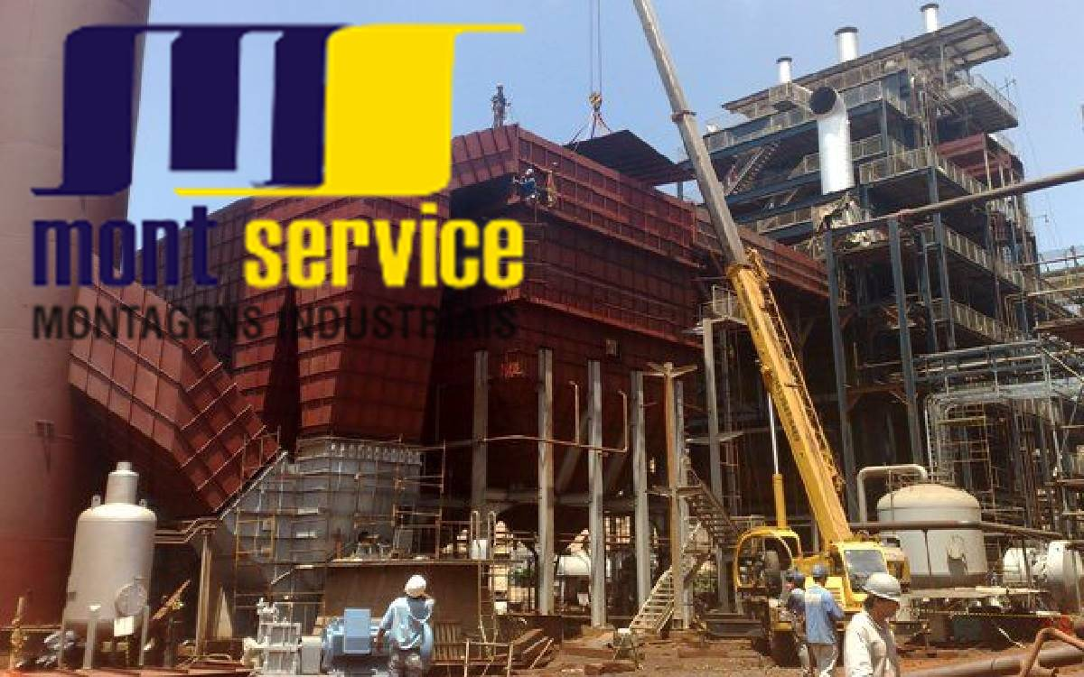 Montservice recebendo currículos em todas as funções para obras externas