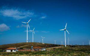 Parque eólico brasileiro obras