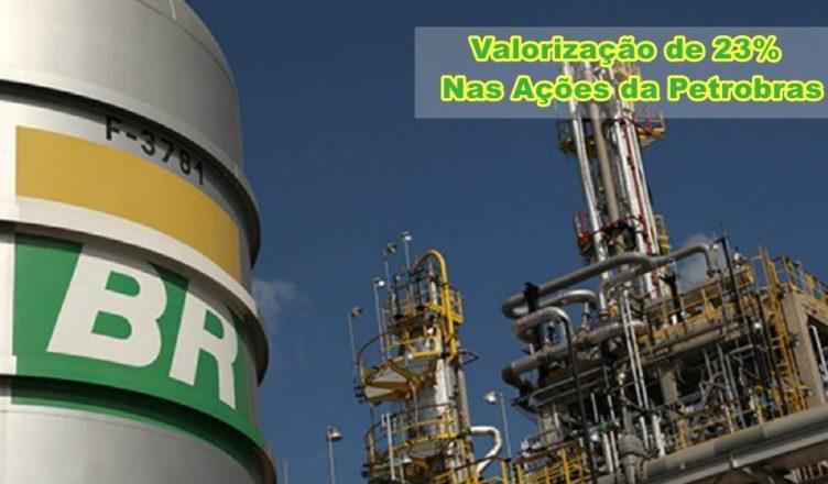 Petrobras ações alta lucro petróleo