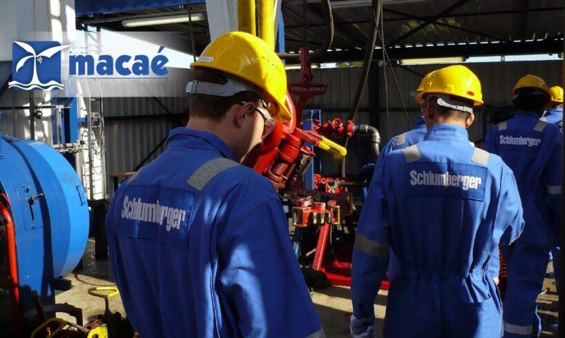 Schlumberger Macaé Offshore sonda plataforma completação