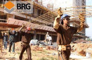 brg vagas construção civil obras