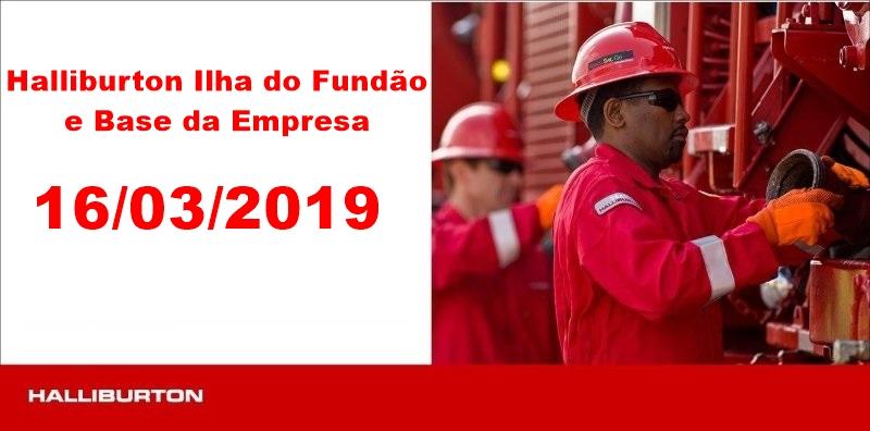 Halliburton Riode Janeiro Técnicos