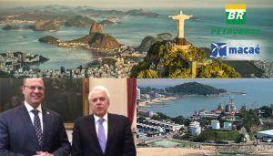 Macaé Rio de Janeiro Comperj Petrobras Investimento