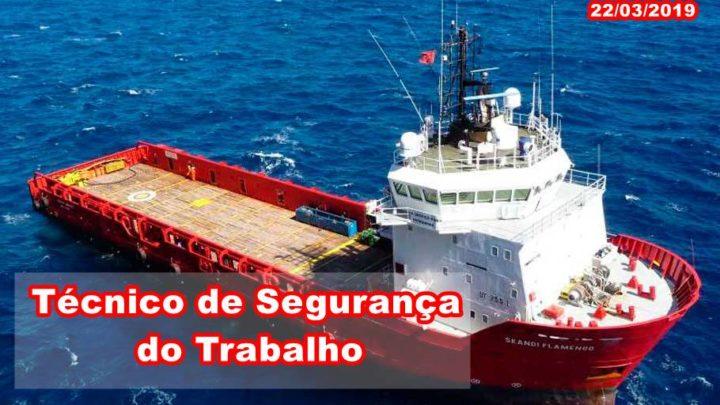 Marlin Navegação busca Técnico de Segurança do Trabalho no Rio de Janeiro
