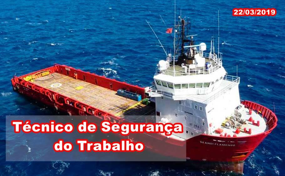 Marlin Navegação Vagas Técnico e Segurança