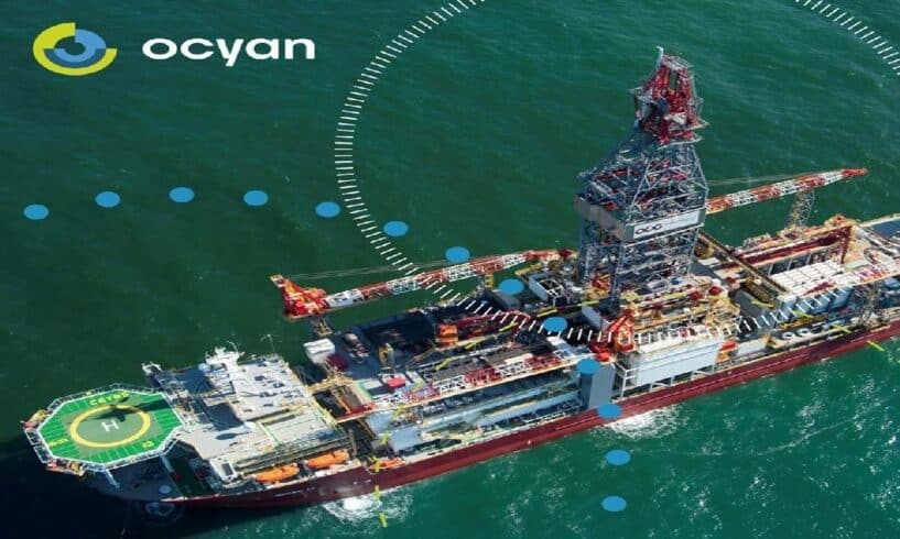 Ocyan Norbe IX parada de manutenção