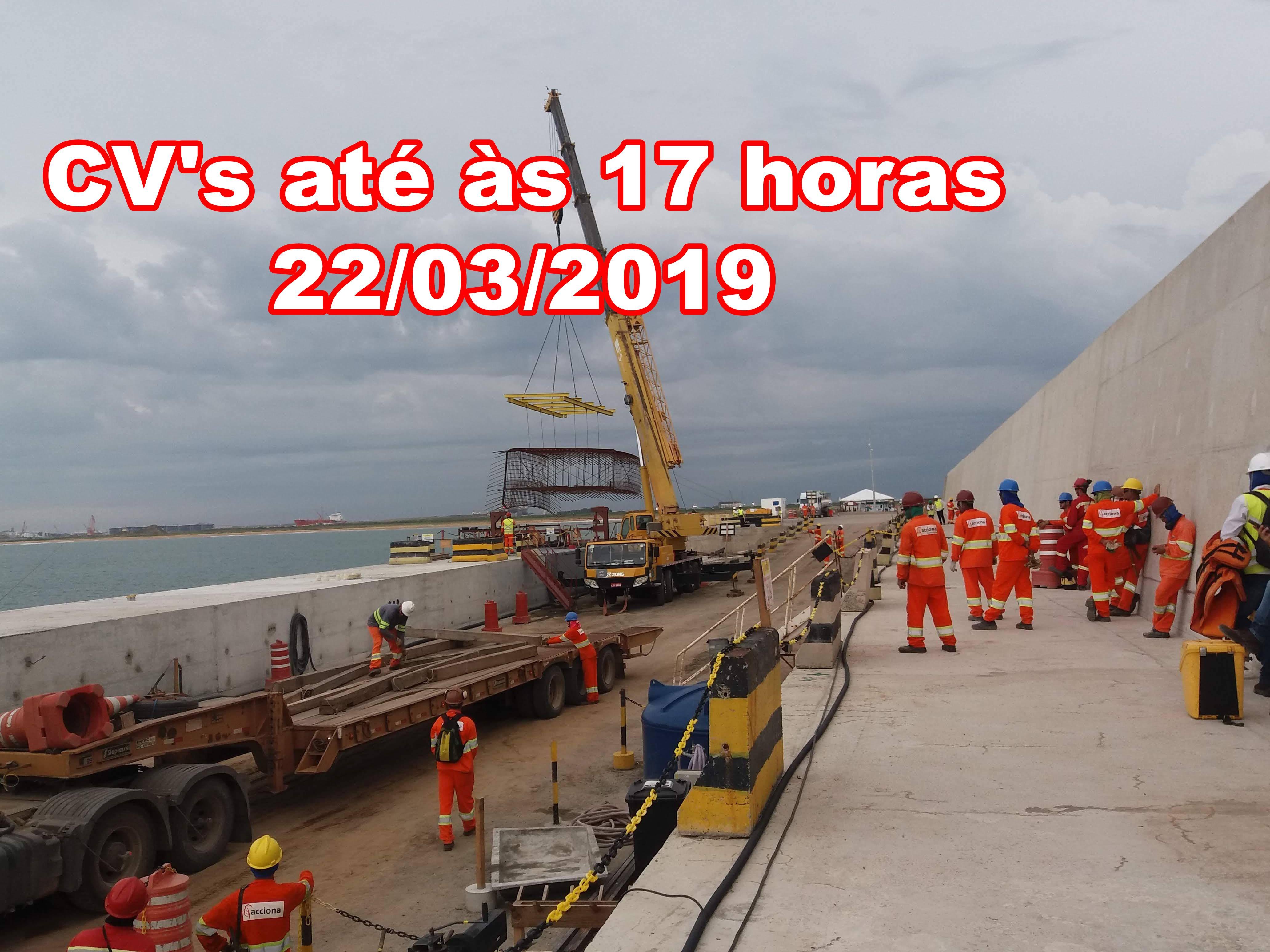 Porto do Açú 22 de março 2019