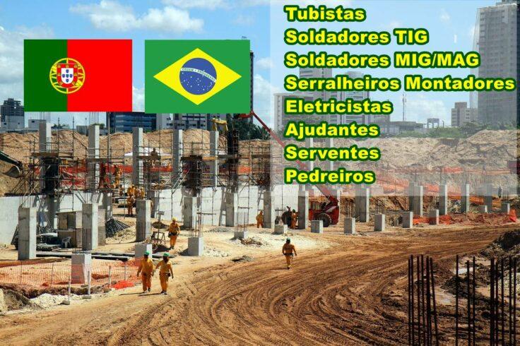 Portugal Trabalho Brasil mão de obra visto passaporte