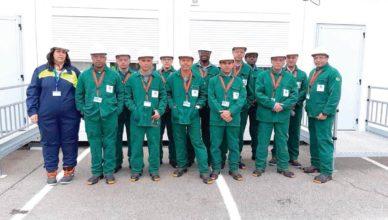 Soldadores formados pela escola do ICN vão para a França