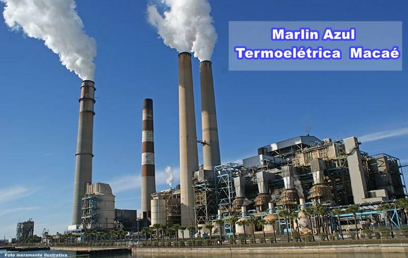 Obras na usina termoelétrica de Macaé: Entregue seu currículo em mãos