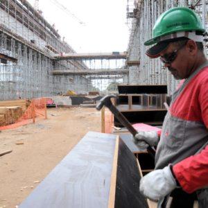 vagas na construção civil