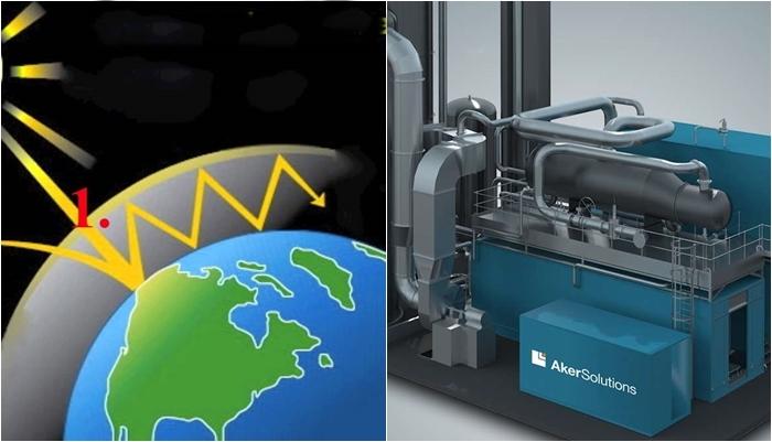 Aker carbono tecnologia emissão CO2