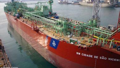 BW CIDADE DE SAO VICENTE Petrobras extensão contrato