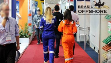 Brasil Offshore 2019 recepcionistas