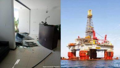 Empresa offshore em Macaé quebrada