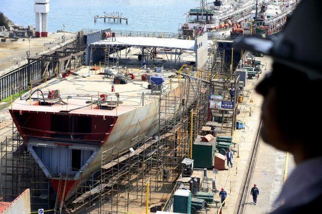 Estaleiro Paraíba construção naval governo