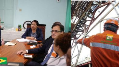 Guiana Petrobras Petróleo Gas contrato