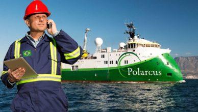 Mecanicos Offshore Navio Sísmico passaporte