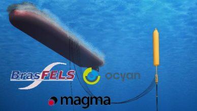 Ocyan Brasfels Magma Global Risers Hibridos