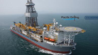 Pacific Drilling Oceaneering negócios digitalização