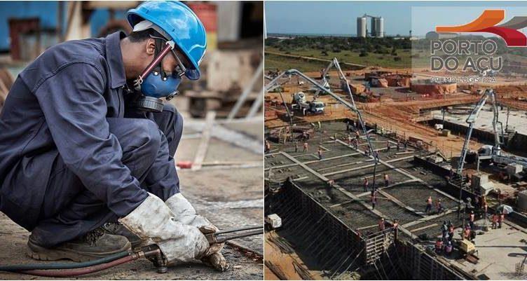 Porto do Açú GNA Açú Termoelétrica Obras São João da Barra