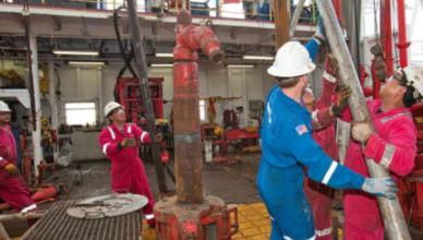 Sondadores offshore navio de perfuração