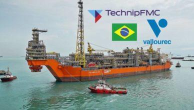 TechnipFMC Vallourec Mero 1 tubos risers contrato
