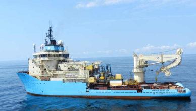 maersk achiever contrato ancoragem