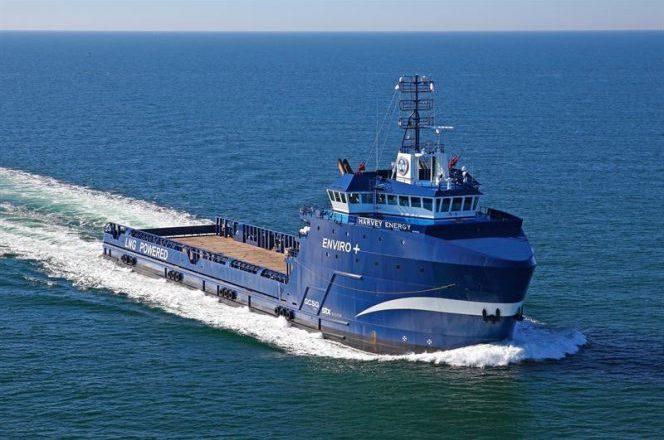 navio Harvey retrofit híbrido PSV