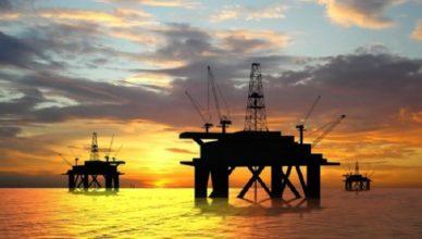 plataforma de perfuração de petroleo