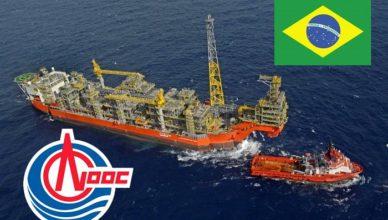 Brasil A China National Offshore Oil Corp quer expandir sua presença no Brasil