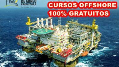 Cursos Offshore gratuitos Casimiro de Abreu