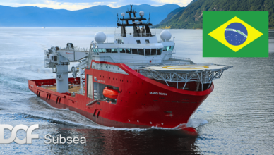 DOF Subsea acaba de faturar 2 contratos no Brasil com a Sapura Energy e a TechnipFMC