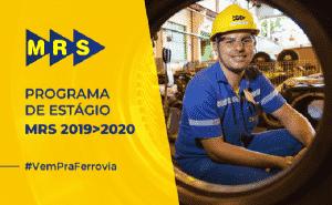 MRS LOGISTICA ESTÁGIOS RIO SÃO PAULO MINAS GERAIS