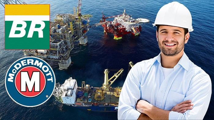 McDermott Petrobras vagas offshore Rio de Janeiro