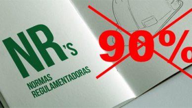 NR GOVERNO 90% Normas Regulamentadoras