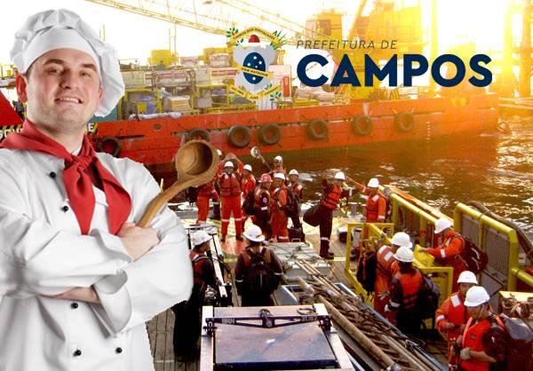 Vagas Offshore Hotelaria Campos dos Goytacazes