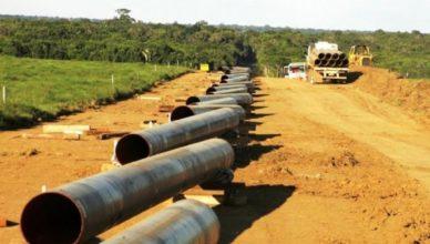 Gasoduto no Recôncavo