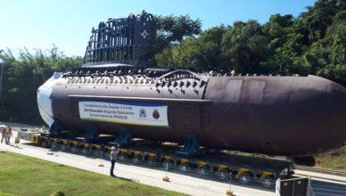 ICN recebe últimas seções do submarino
