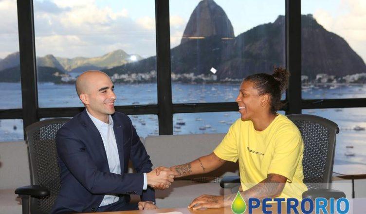 PetroRio Judoca Rafaela Rafaela Silva