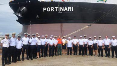 Traspetro navio aframax esteleiro AES PERNAMBUCO EAS ATLÂNICO SUL