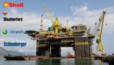 Vagas offshore Rio de Janeiro Shell, Wheatherford, Schlumberger, CEPEM, Ocyan